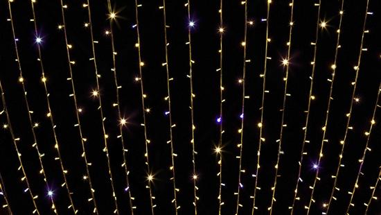 CURTAIN LED LIGHT - Гирлянда Штора, Дождь