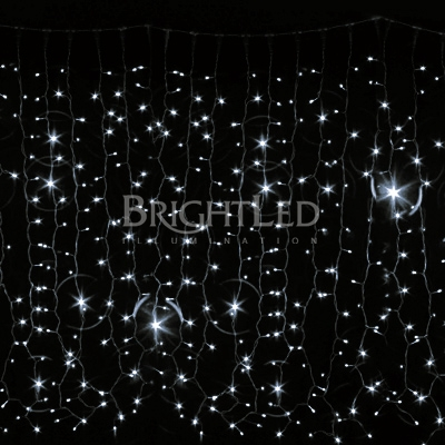 BRIGHTLED Curtain LED light 2x1,5м  (гирлянда штора) 456LED