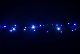 BRIGHTLED String Bi-color LED light 10м (гирлянда нить биколор) 100LED