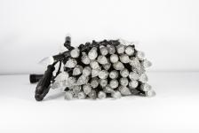 BRIGHTLED String CRYSTAL LED light 10м (гирлянда нить кристалл) 100LED