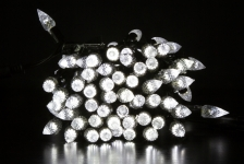 BRIGHTLED String CRYSTAL LED light 10м (гирлянда нить кристалл) 100LED