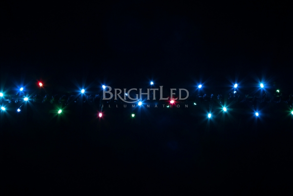 BRIGHTLED String RGB LED light 10м (гирлянда rgb нить) 100LED RGB