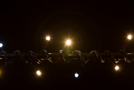 BRIGHTLED String LED light FLASH 10м (гирлянда нить + флеш) 100LED